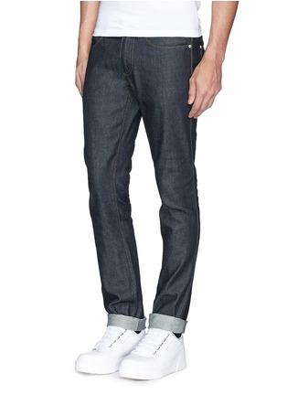 模特示范图 - 点击放大 - ACNE STUDIOS - 纯棉牛仔裤
