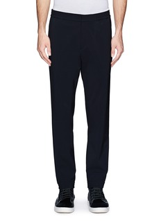 THEORY 'Plymouth' stretch technical nylon twill pants
