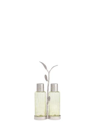 首图 –点击放大 - MICHAEL ARAM - 植物枝叶不锈钢调味罐