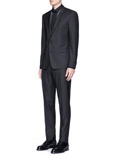 Dolce & Gabbana'Gold' slim fit virgin wool-silk suit