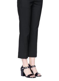 Mulberry'Capri Mary Jane' press stud leather sandals