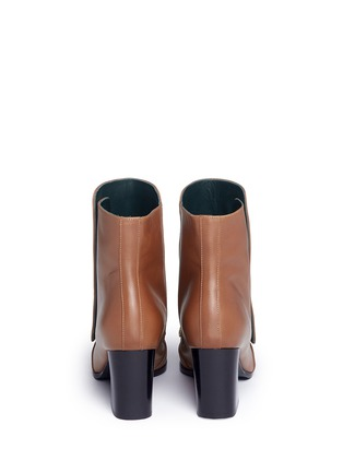 Back View - Click To Enlarge - Mulberry - 'Marylebone' press stud leather boots