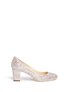 Jimmy Choo 'Billie 65' speckled coarse glitter pumps