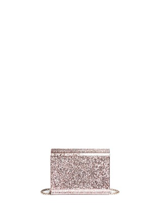 Detail View - Click To Enlarge - Jimmy Choo - 'Candy' speckled glitter acrylic clutch bag