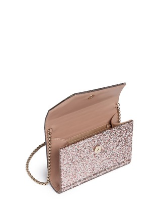 - Jimmy Choo - 'Candy' speckled glitter acrylic clutch bag