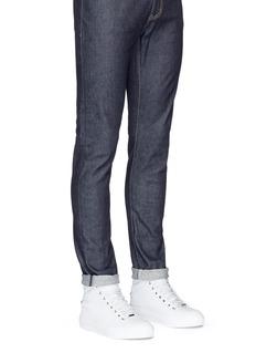 Jimmy Choo 'Belgravia' star stud high top leather sneakers