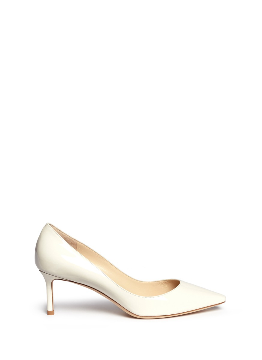 Romy 60 patent leather pumps by Jimmy Choo