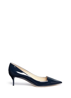 Jimmy Choo 'Allure' notched vamp patent leather pumps
