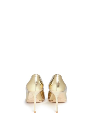 Back View - Click To Enlarge - Jimmy Choo - 'Romy 85' mirror leather pumps