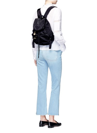 Figure View - Click To Enlarge - See by Chloé - 'Joy Rider' small flocked polka dot backpack