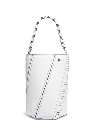 Detail View - Click To Enlarge - Proenza Schouler - 'Hex' medium leather bucket bag