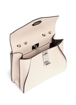 'Hava' small top handle leather bag