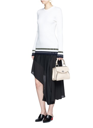 Figure View - Click To Enlarge - Proenza Schouler - 'Hava' small top handle leather bag