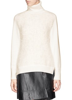3.1 PHILLIP LIM Angora front wool sweater