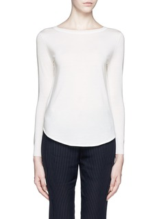 THEORY 'Landran' wool-silk sweater
