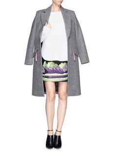 ALEXANDER WANG Mountain jacquard pencil skirt