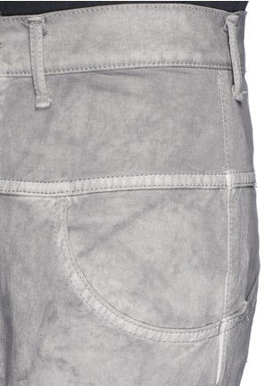 Detail View - Click To Enlarge - The Viridi-anne - Cold dye twill slim fit pants