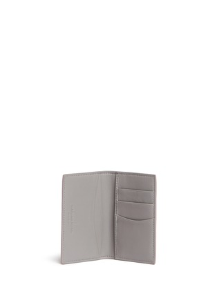 Figure View - Click To Enlarge - Alexander McQueen - Skull leather pocket card organiser