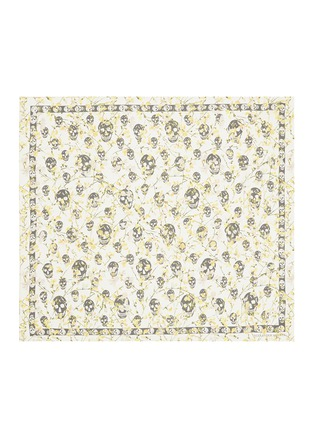 Main View - Click To Enlarge - Alexander McQueen - Ramage skull silk chiffon scarf