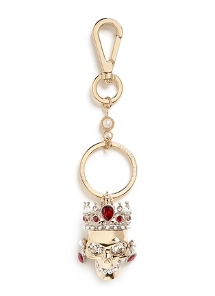 Main View - Click To Enlarge - Alexander McQueen - Royal skull keyring