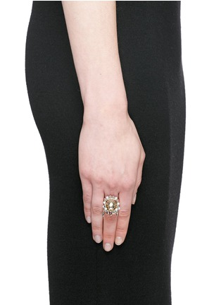 Figure View - Click To Enlarge - Alexander McQueen - Royal skull ring
