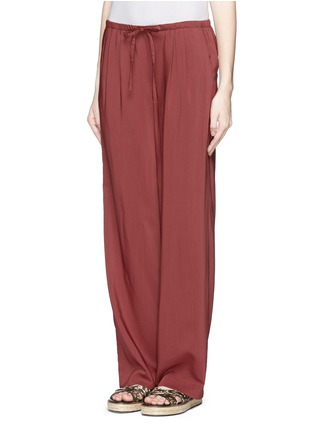 Front View - Click To Enlarge - Theory - 'Tavimmy' virgin wool blend pants