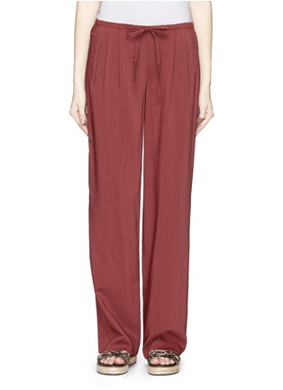Main View - Click To Enlarge - Theory - 'Tavimmy' virgin wool blend pants