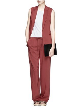 Figure View - Click To Enlarge - Theory - 'Tavimmy' virgin wool blend pants