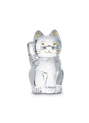 Baccarat - Chat lucky cat sculpture