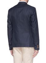 Cotton twill blazer