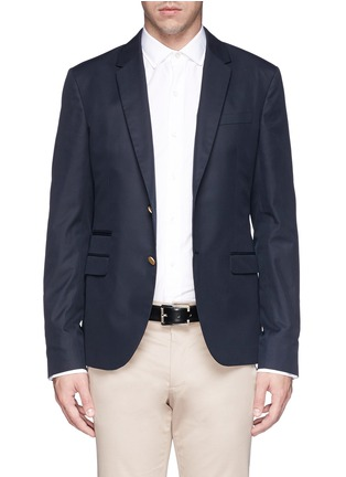 Main View - Click To Enlarge - Valentino - Cotton twill blazer