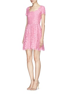 VALENTINOFloral guipure lace dress