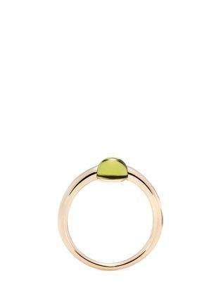 细节 - 点击放大 - POMELLATO - M'ama Non M'ama 18K玫瑰金橄榄石戒指