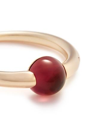 Pomellato-'M'ama Non M'ama' red tourmaline rose gold ring
