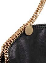 'Falabella' small shaggy deer foldover chain tote