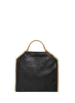 Back View - Click To Enlarge - Stella McCartney - 'Falabella' small shaggy deer foldover chain tote