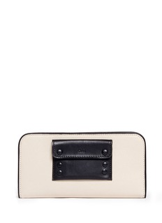 CHLOÉ Alice long leather wallet
