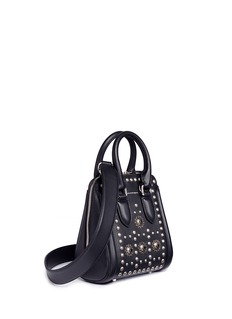 Alexander McQueen 'Heroine' small embellished leather crossbody bag