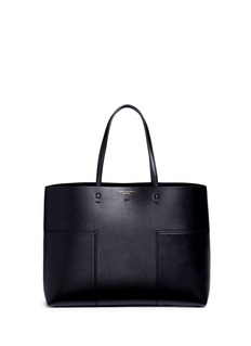 Tory Burch'Block-T' patchwork leather tote