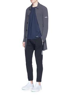 IsaoraStretch nylon Mackintosh coat