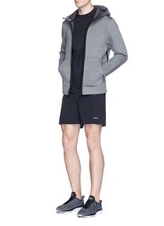 IsaoraNeoprene zip hoodie