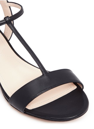 Detail View - Click To Enlarge - Nicholas Kirkwood - 'Casati Pearl' leather T-strap sandals
