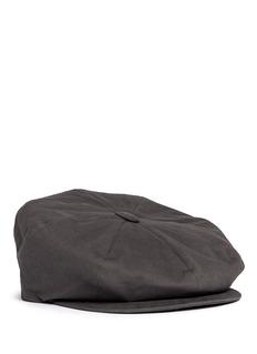 Lock & Co'Muirfield' cotton messenger boy cap