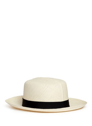 Main View - Click To Enlarge - Lock & Co - Rollable Panama straw hat