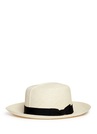 Figure View - Click To Enlarge - Lock & Co - Rollable Panama straw hat