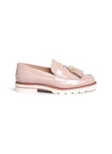 Stuart Weitzman'Manila' tassel leather penny loafers