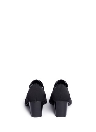 Back View - Click To Enlarge - Stuart Weitzman - 'Menswear' grosgrain Oxfords