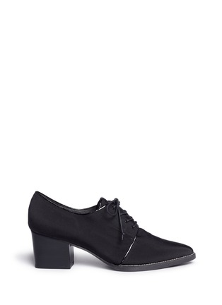 Main View - Click To Enlarge - Stuart Weitzman - 'Menswear' grosgrain Oxfords