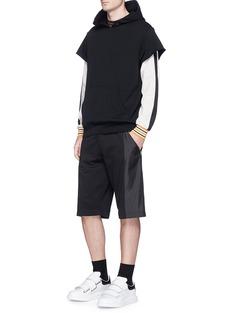 McQ Alexander McQueenLogo print mesh jersey sweatshirt