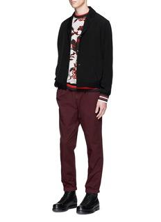 McQ Alexander McQueenElastic cuff cotton track pants